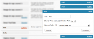 multi wp polls 300x125 Nouvelle API de Widgets pour WordPress 2.8, et un multi widget pour lextension WP Polls !